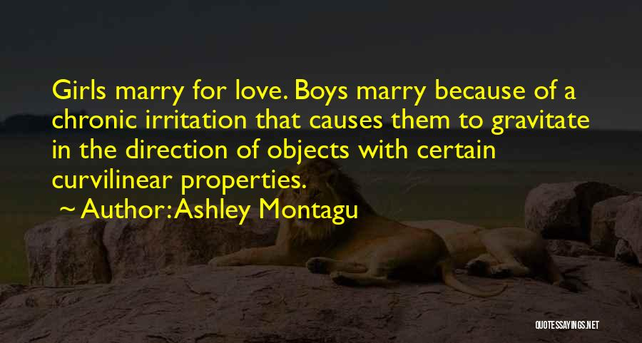 Gravitate Quotes By Ashley Montagu
