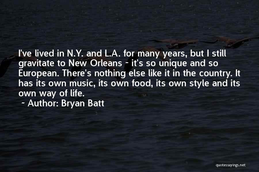 Gravitate Quotes By Bryan Batt