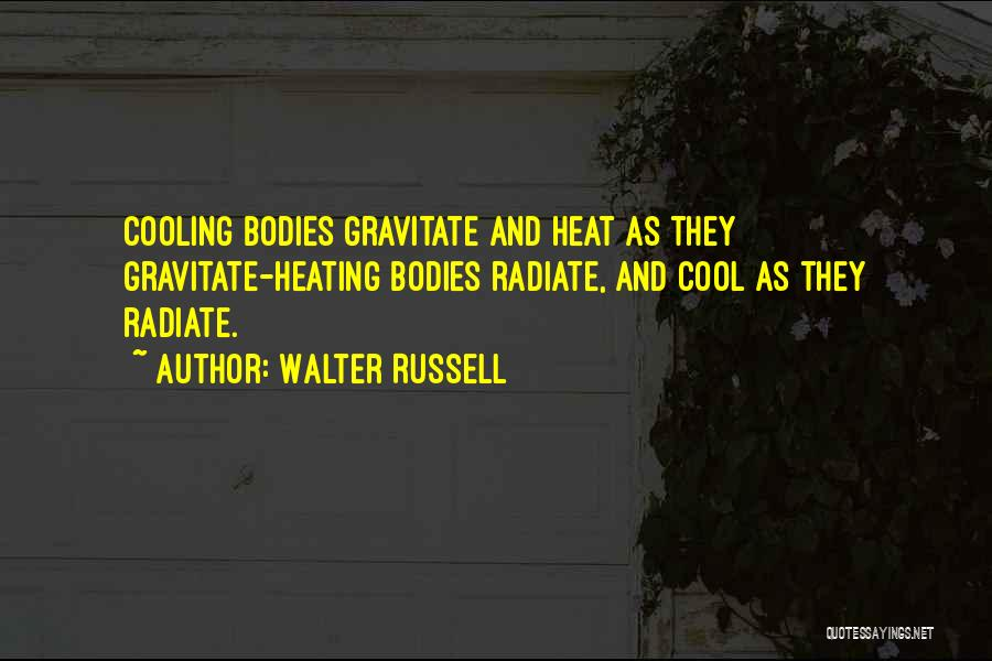 Gravitate Quotes By Walter Russell