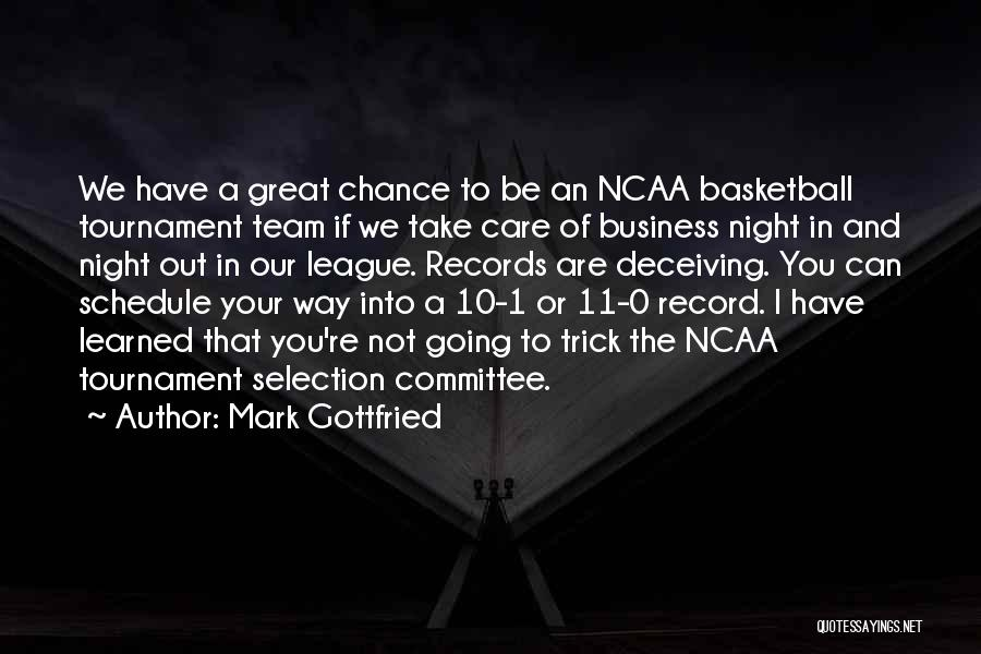 Great Basketball Team Quotes By Mark Gottfried