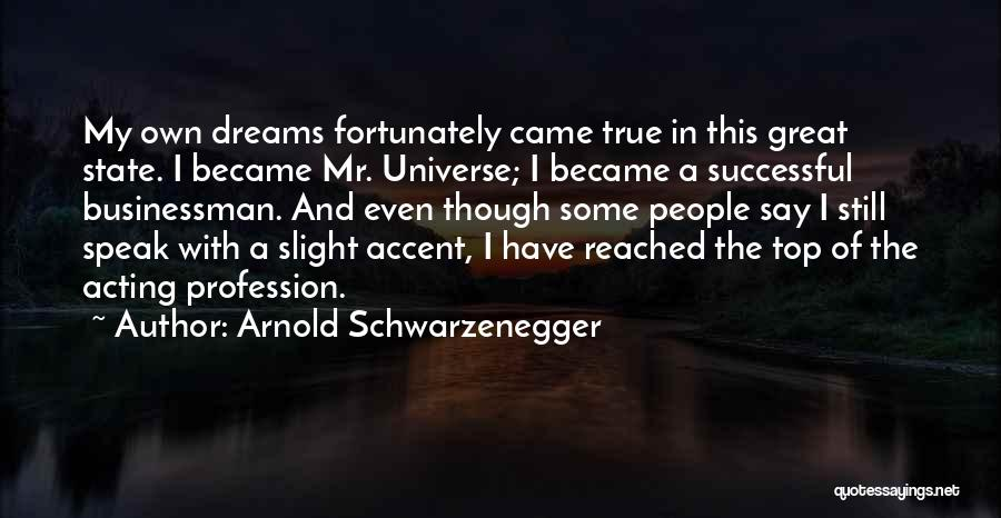 Great Businessman Quotes By Arnold Schwarzenegger