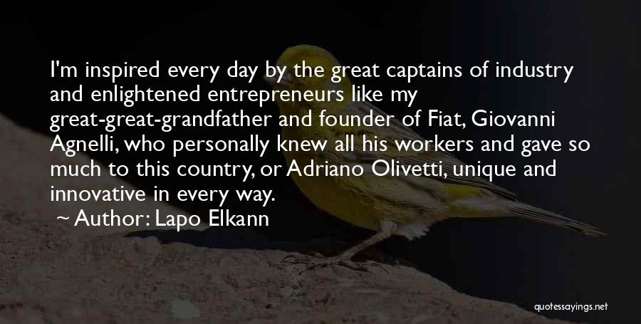 Great Captains Quotes By Lapo Elkann