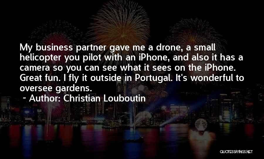 Great Christian Business Quotes By Christian Louboutin