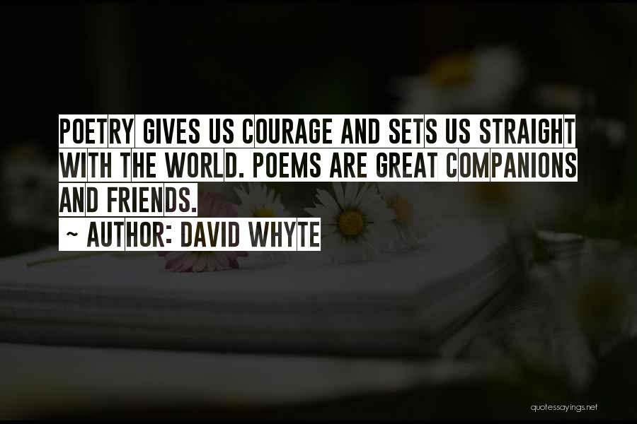 Great Companions Quotes By David Whyte