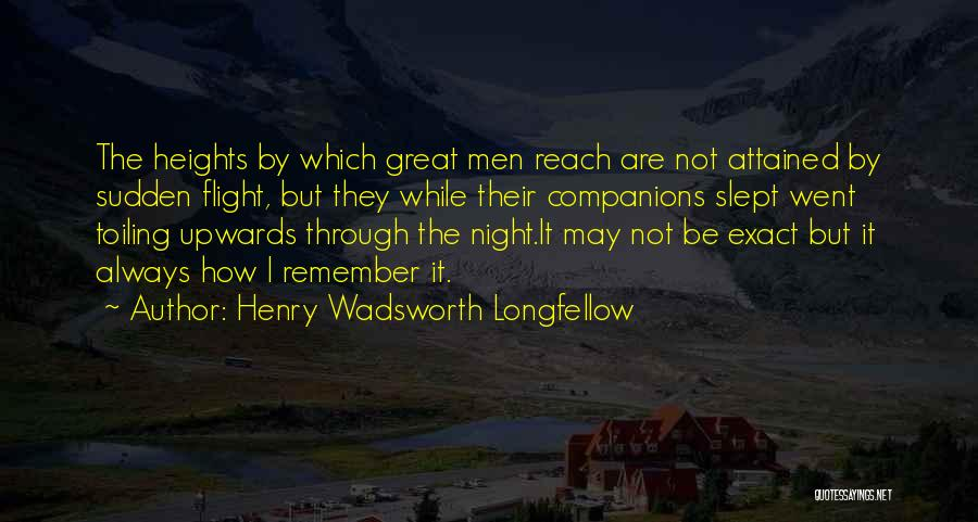 Great Companions Quotes By Henry Wadsworth Longfellow
