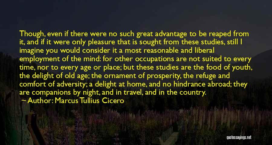 Great Companions Quotes By Marcus Tullius Cicero