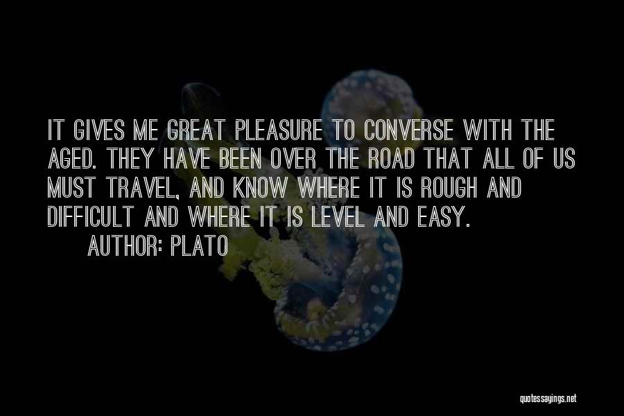 Great Converse Quotes By Plato