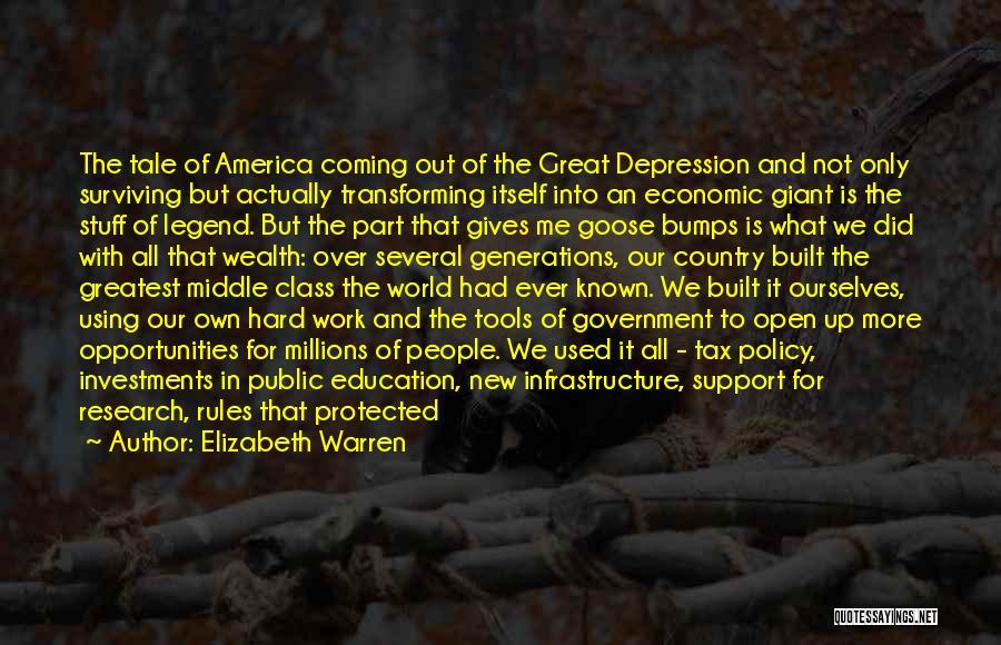 Great Fireworks Quotes By Elizabeth Warren