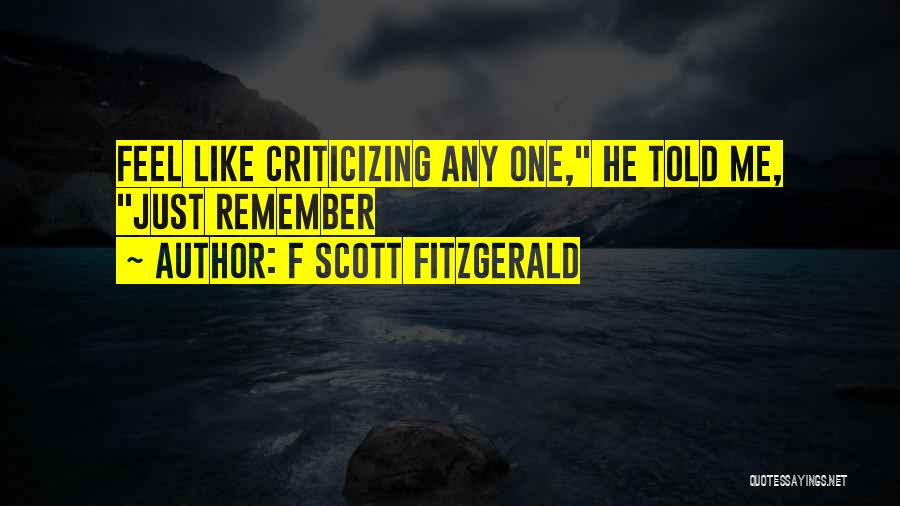Great Gatsby Father Quotes By F Scott Fitzgerald