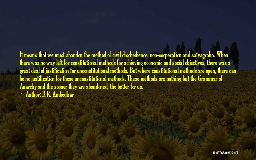 Great Grammar Quotes By B.R. Ambedkar