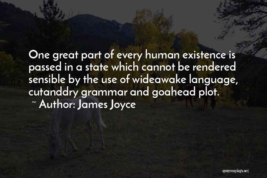 Great Grammar Quotes By James Joyce