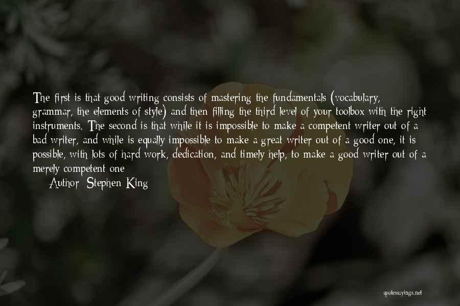 Great Grammar Quotes By Stephen King