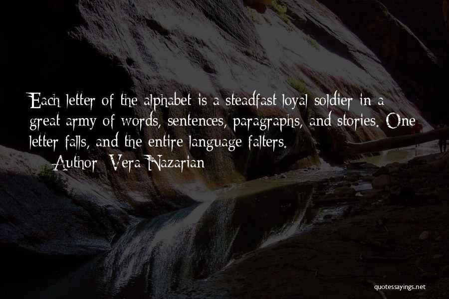 Great Grammar Quotes By Vera Nazarian