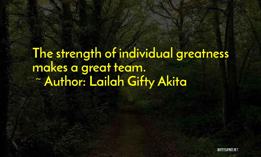 Great Hard Work Quotes By Lailah Gifty Akita