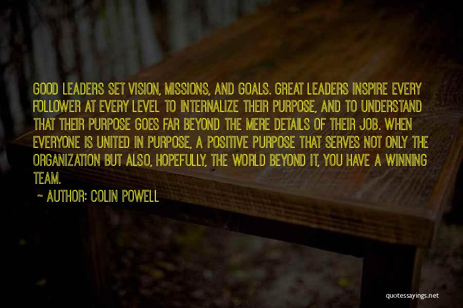 Great Leaders And Quotes By Colin Powell