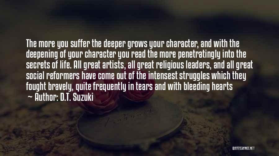 Great Leaders And Quotes By D.T. Suzuki