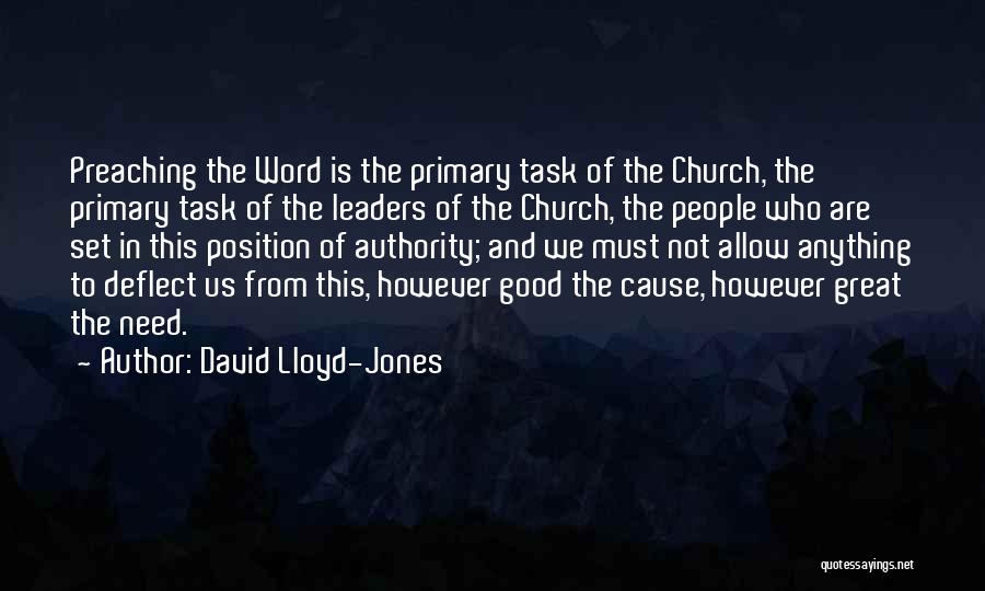 Great Leaders And Quotes By David Lloyd-Jones