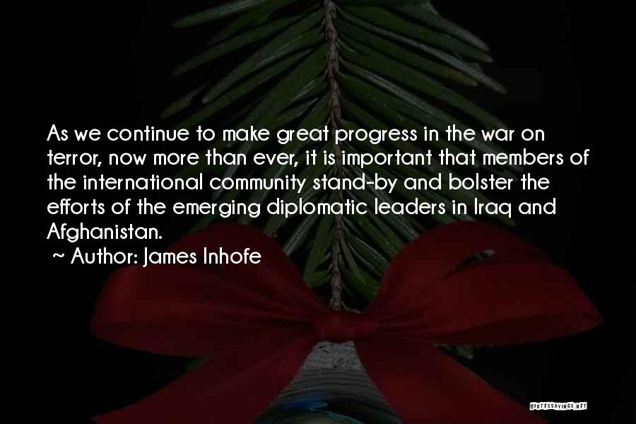 Great Leaders And Quotes By James Inhofe