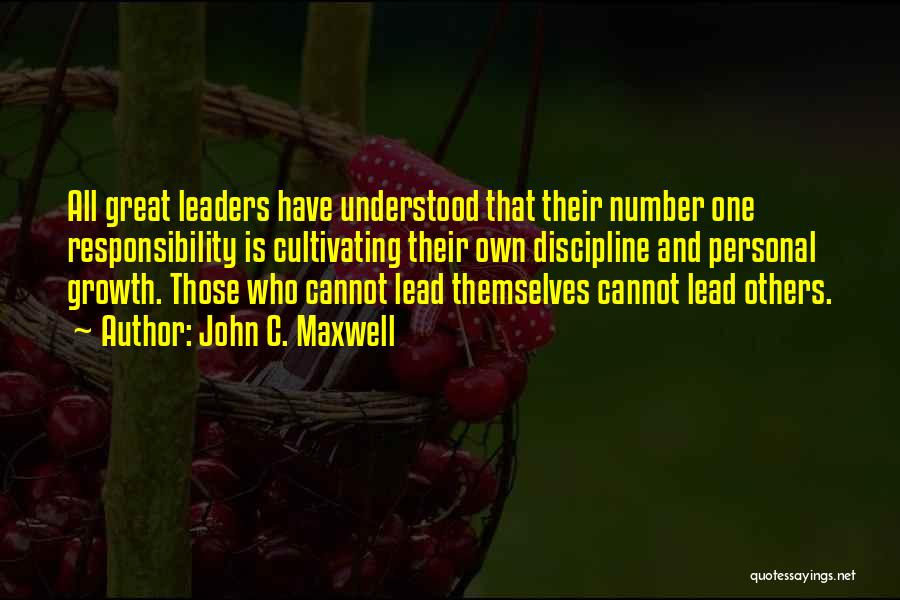 Great Leaders And Quotes By John C. Maxwell