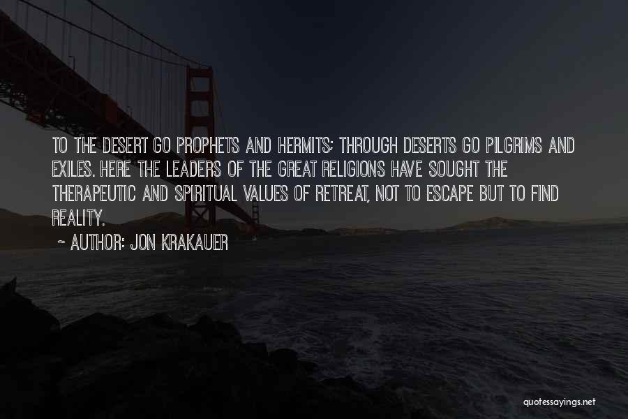 Great Leaders And Quotes By Jon Krakauer