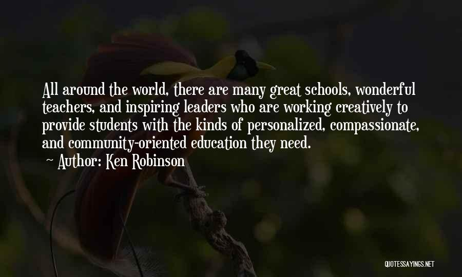 Great Leaders And Quotes By Ken Robinson