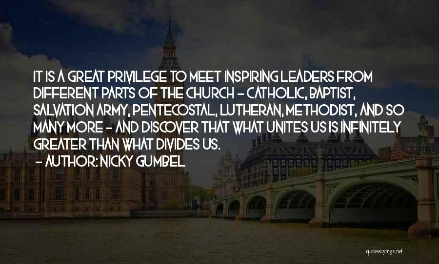 Great Leaders And Quotes By Nicky Gumbel