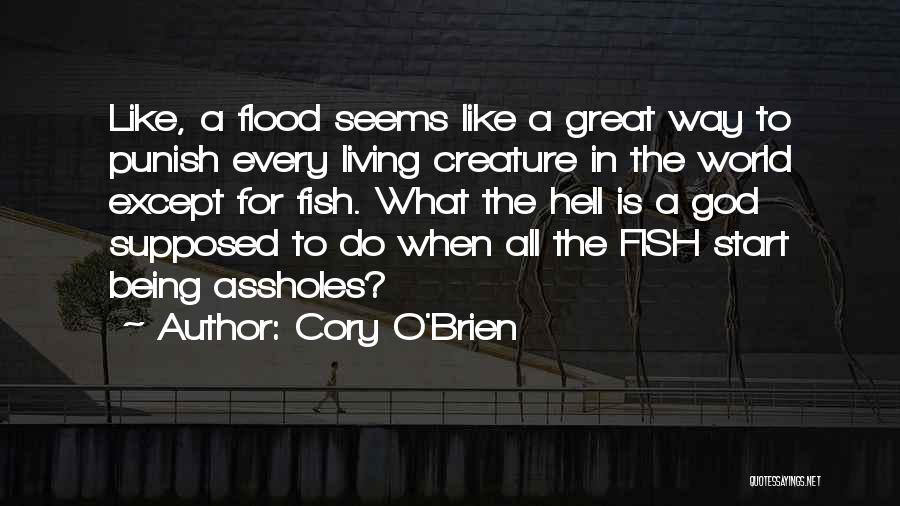 Great Mythology Quotes By Cory O'Brien