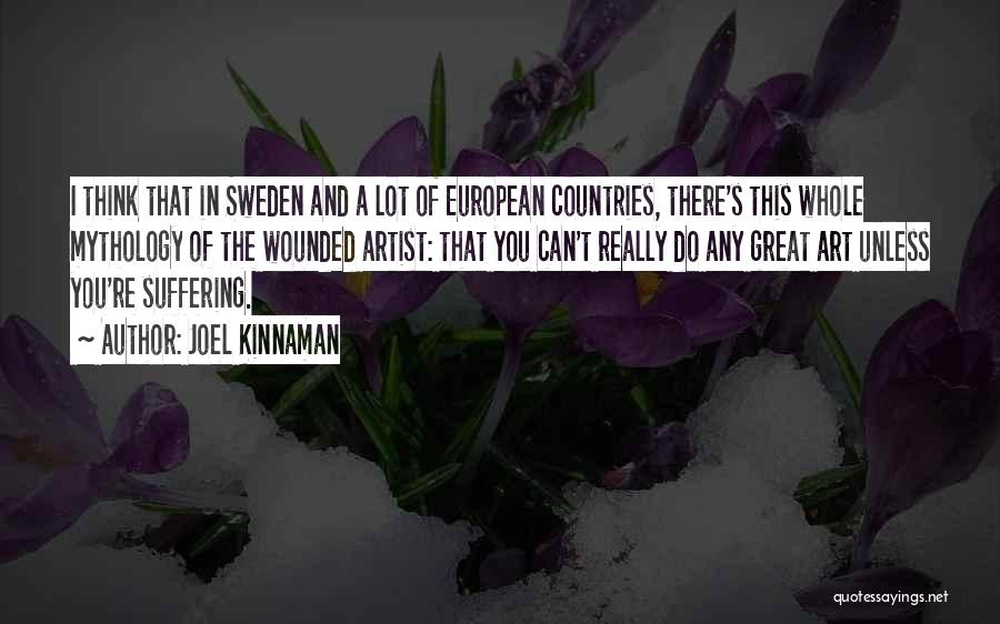 Great Mythology Quotes By Joel Kinnaman