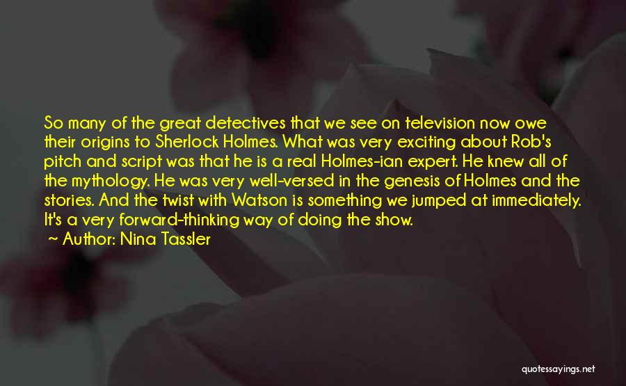 Great Mythology Quotes By Nina Tassler