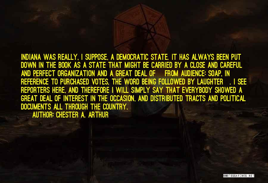 Great Occasion Quotes By Chester A. Arthur