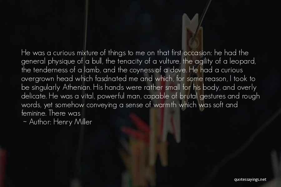 Great Occasion Quotes By Henry Miller