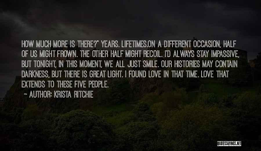 Great Occasion Quotes By Krista Ritchie