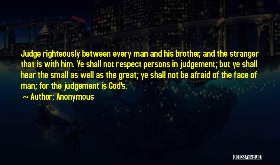 Great Persons Quotes By Anonymous