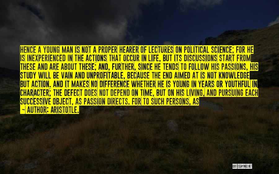 Great Persons Quotes By Aristotle.