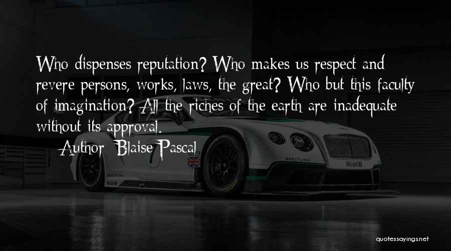 Great Persons Quotes By Blaise Pascal