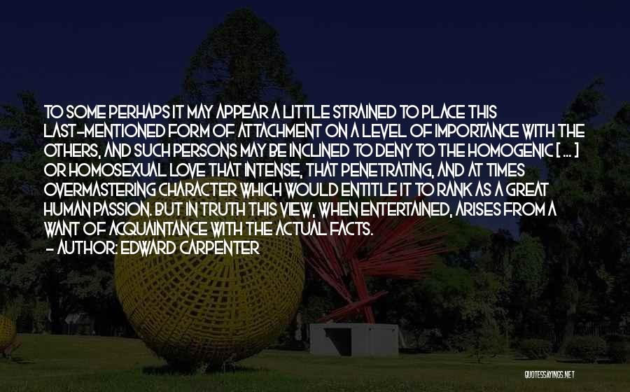 Great Persons Quotes By Edward Carpenter