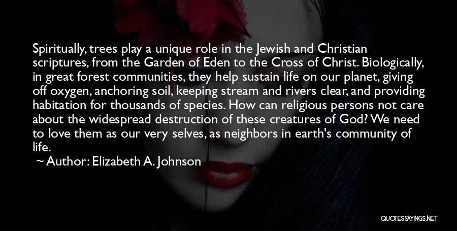 Great Persons Quotes By Elizabeth A. Johnson