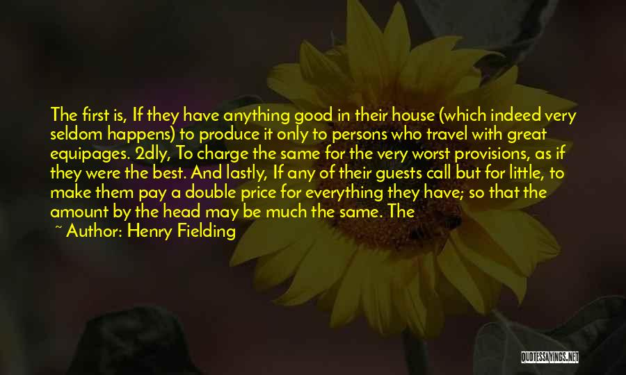 Great Persons Quotes By Henry Fielding