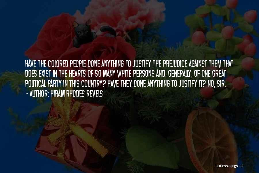 Great Persons Quotes By Hiram Rhodes Revels