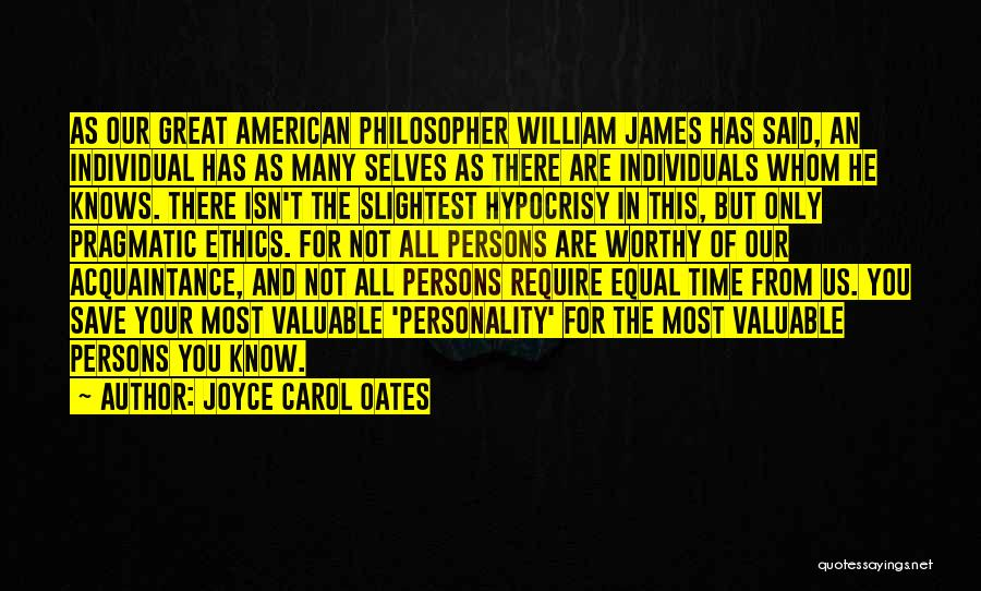 Great Persons Quotes By Joyce Carol Oates