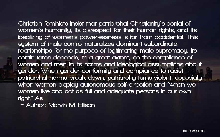 Great Persons Quotes By Marvin M. Ellison