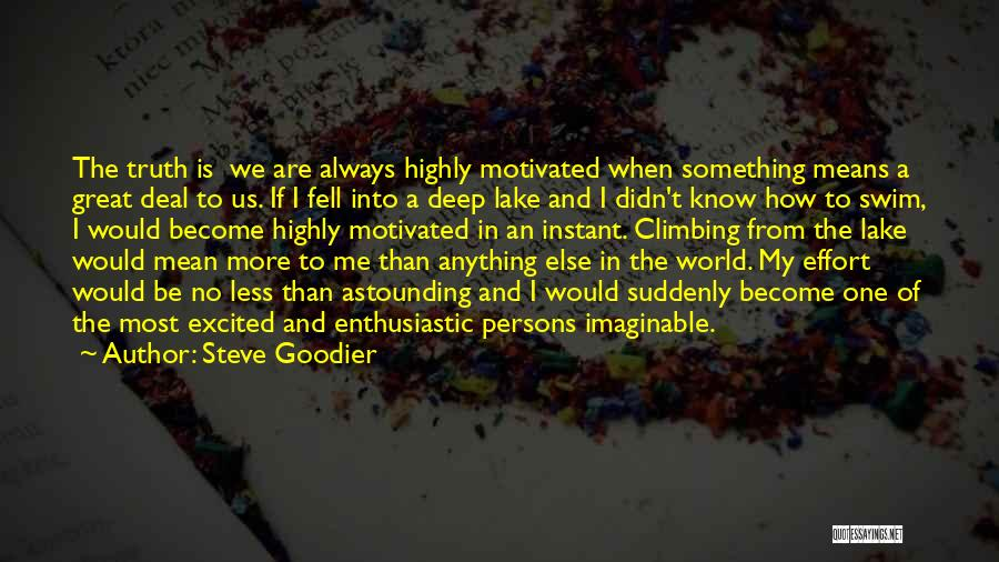 Great Persons Quotes By Steve Goodier