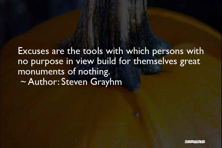 Great Persons Quotes By Steven Grayhm