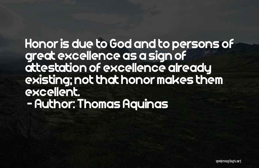 Great Persons Quotes By Thomas Aquinas