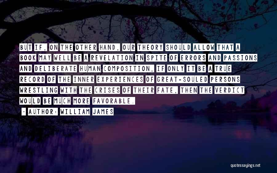 Great Persons Quotes By William James