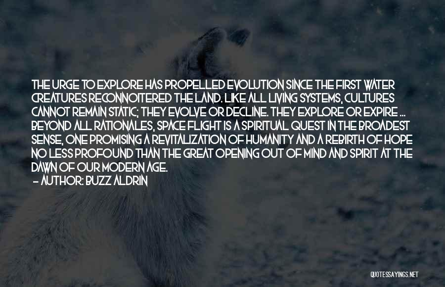 Great Promising Quotes By Buzz Aldrin