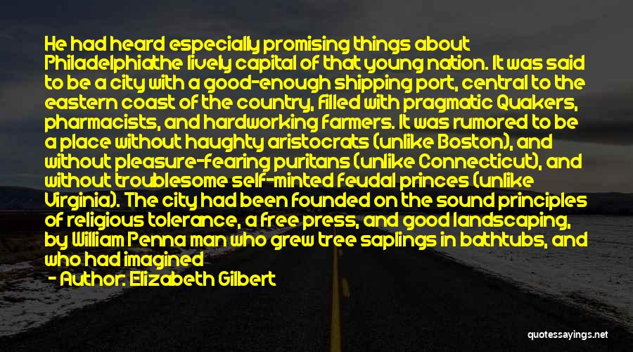 Great Promising Quotes By Elizabeth Gilbert