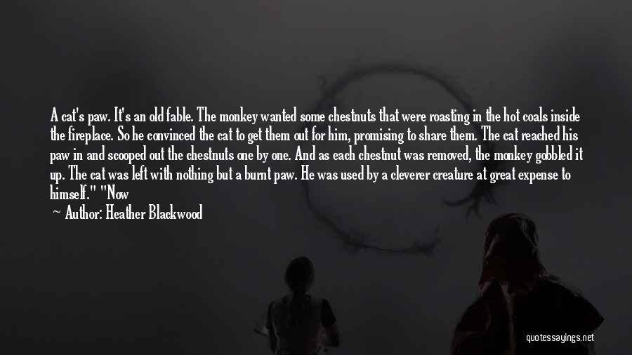 Great Promising Quotes By Heather Blackwood