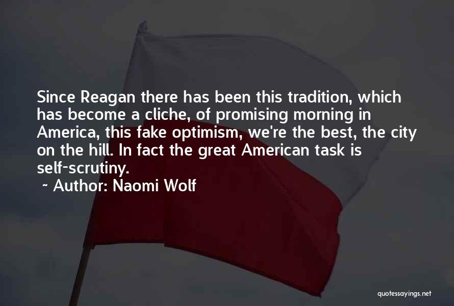 Great Promising Quotes By Naomi Wolf