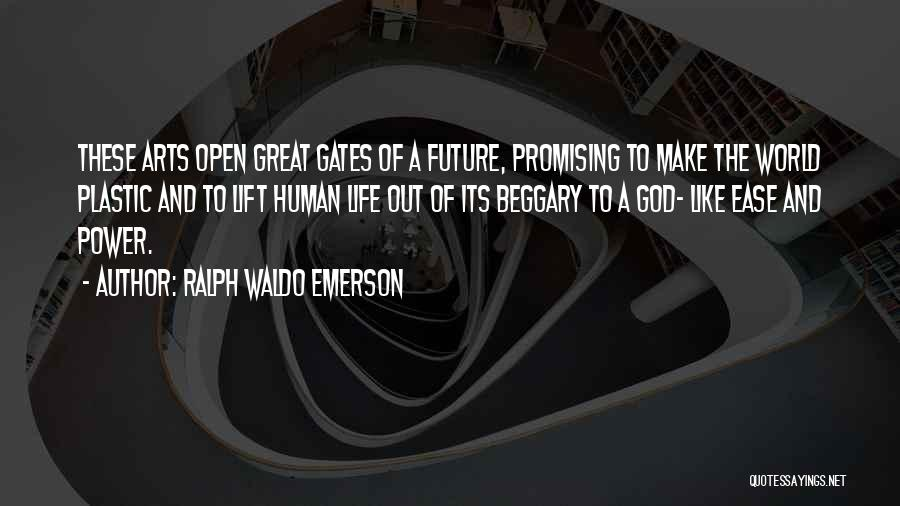 Great Promising Quotes By Ralph Waldo Emerson